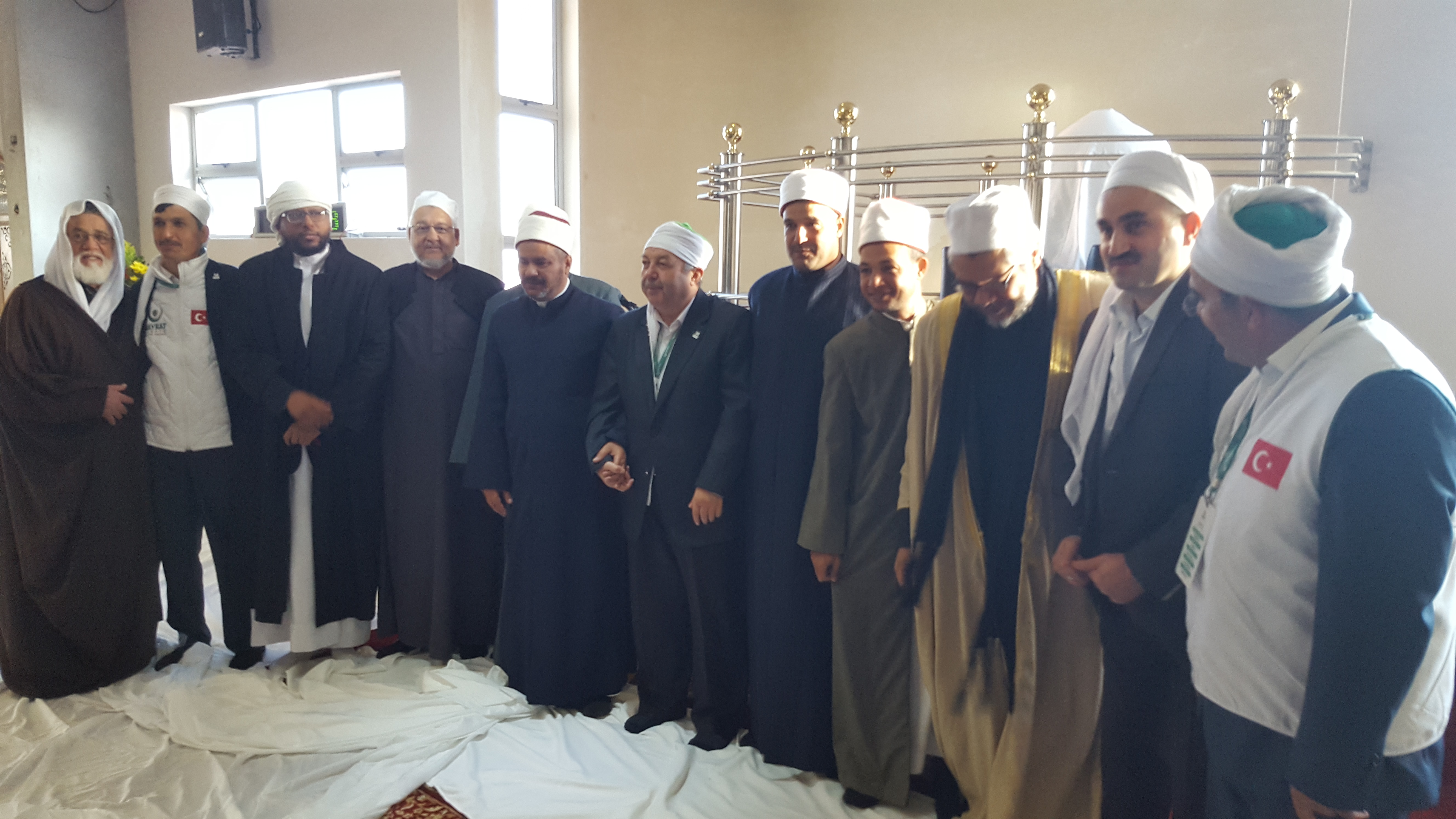 Eid Salaah was performed at the Darul Islam Surrey Estate under the auspices of Shaykh Moegamat Ighsaan Taliep, President of United Ulema Council of SA.