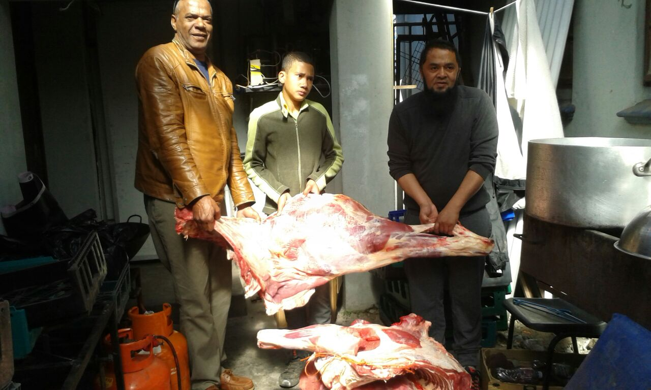 Distribution of meat was done efficiently and effectively over the three days of tashreeq.