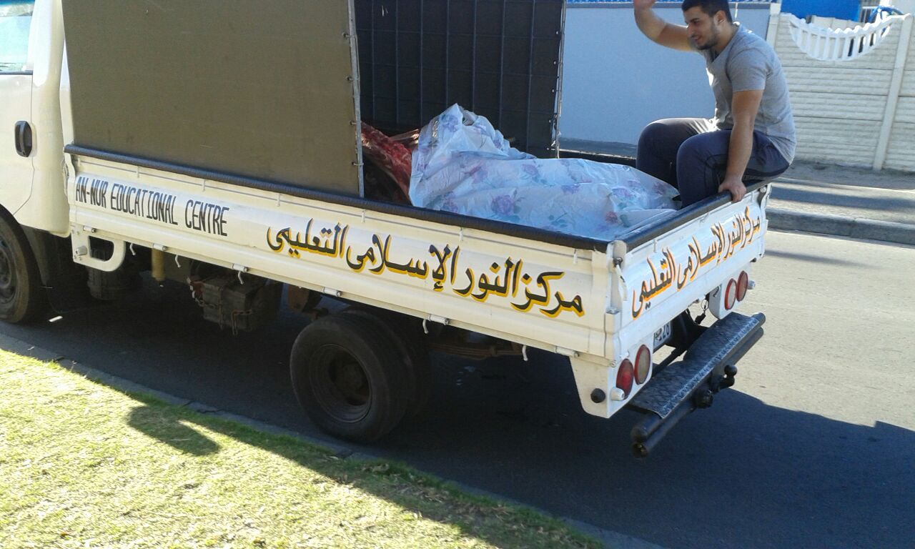Meat distribution also took place at Masjidul Bagr, Hout Bay on the Monday.