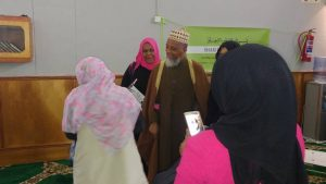 MJC President Shaykh Irafaan Abrahams and other Executive members made a suprise appearance at the gathering.