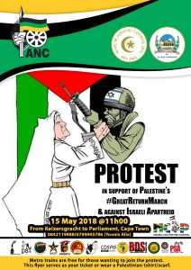 Nakba protest