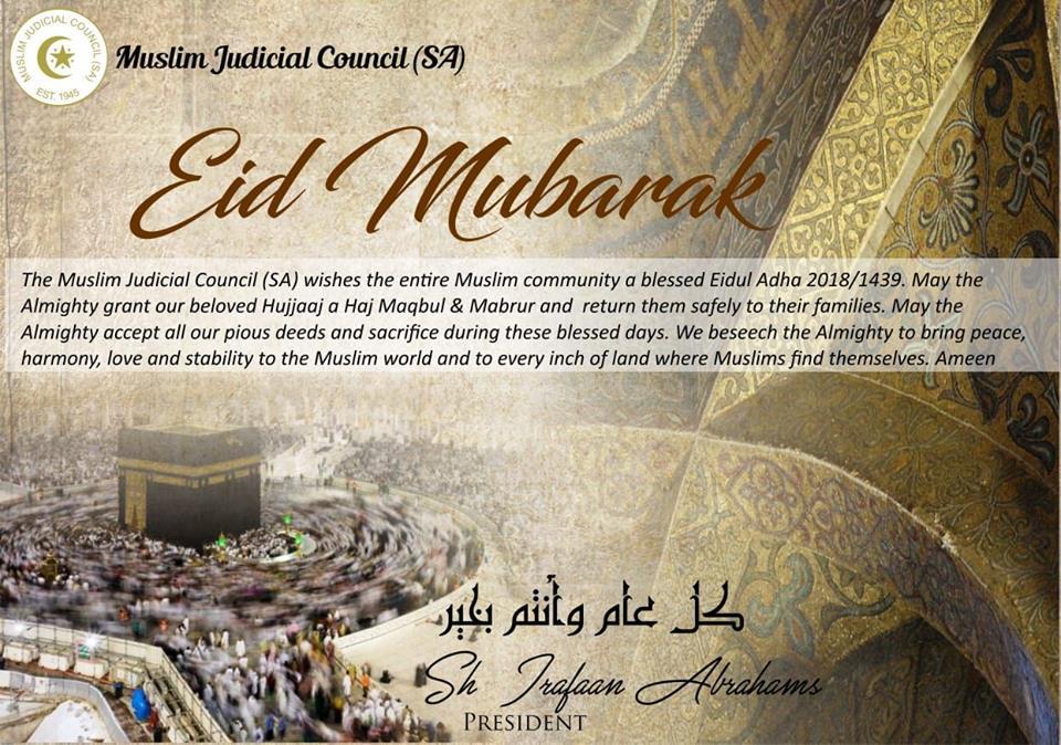 Eidul Adha Mubarak