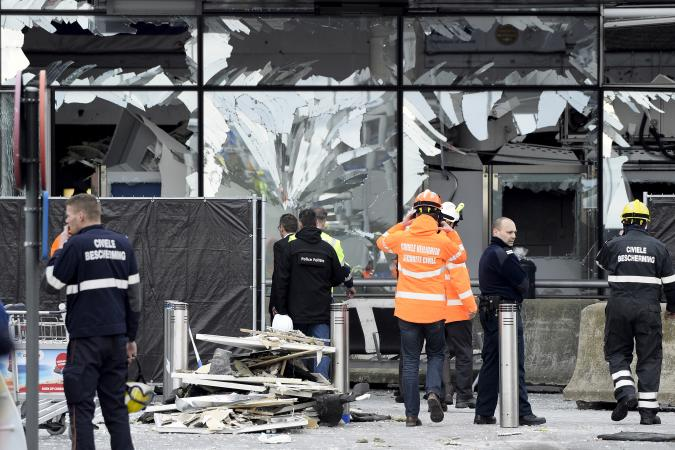 - brussels damages - CONDOLENCES TO THE PEOPLE OF BRUSSELS