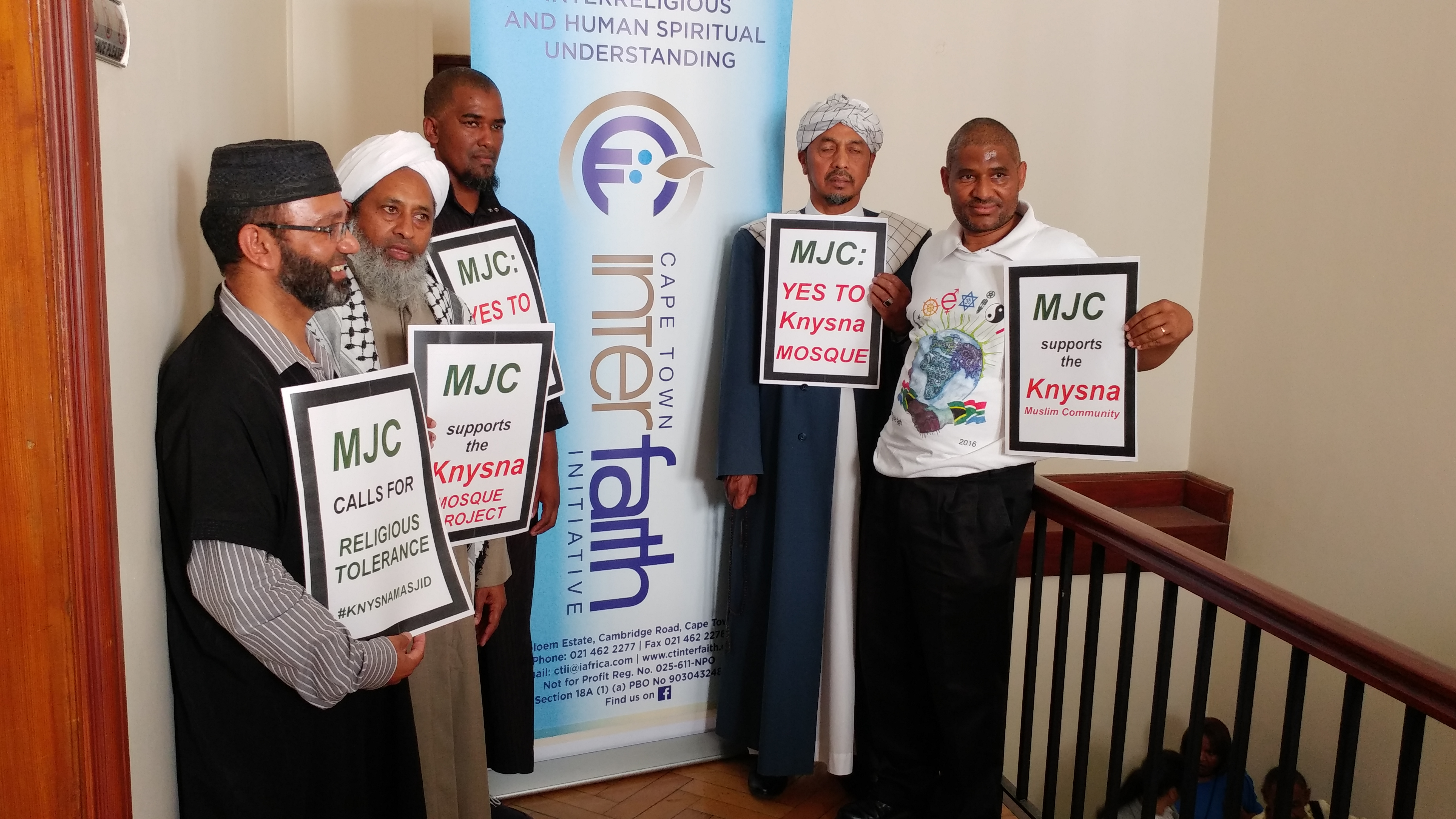 mjc shows support for knysna masjid project - 20170308 113252 - MJC shows support for Knysna Masjid Project