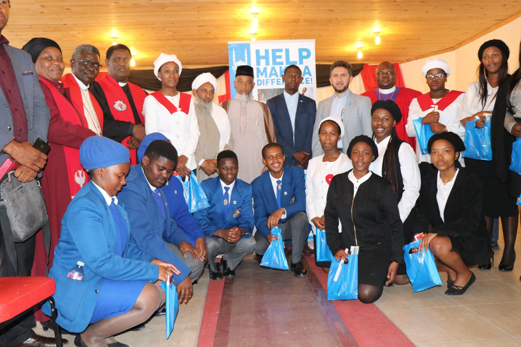 matrics receive stationery packs at a special interfaith service - pic6 - Matrics receive stationery packs at a special interfaith service