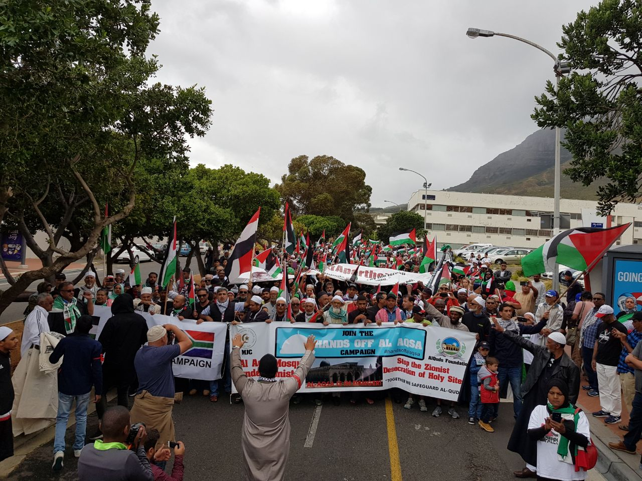 joint statement by sa religious leadership on increased hostility by israeli government and trumps unfortunate meddling - protest03 - Joint statement by SA religious leadership on increased hostility by Israeli government and Trumps unfortunate meddling