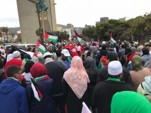 protest06 joint statement by sa religious leadership on increased hostility by israeli government and trumps unfortunate meddling - protest06 300x225 - Joint statement by SA religious leadership on increased hostility by Israeli government and Trumps unfortunate meddling