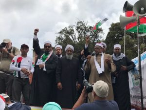protest07 joint statement by sa religious leadership on increased hostility by israeli government and trumps unfortunate meddling - protest07 300x225 - Joint statement by SA religious leadership on increased hostility by Israeli government and Trumps unfortunate meddling