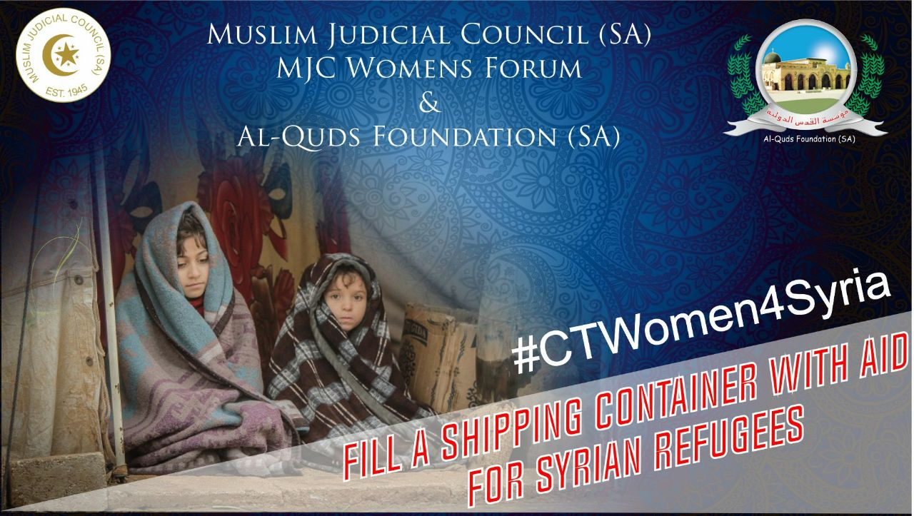 women rally to send off aid container for syrian refugees - CTWomen4Syria fb - Women rally to send off aid container for Syrian refugees
