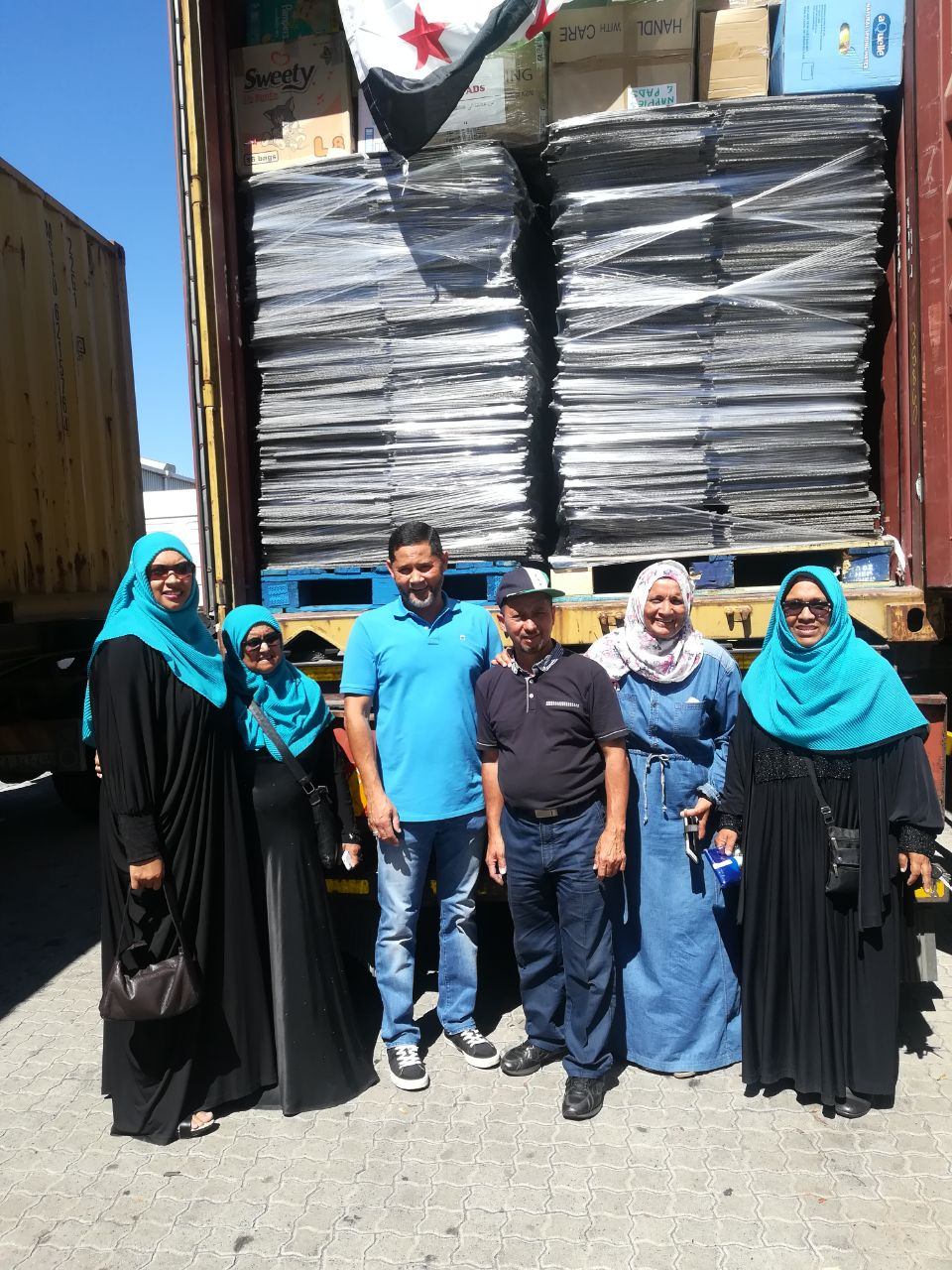 shipping containers for syrian refugees leave for turkey - WhatsApp Image 2018 03 03 at 18 - Shipping containers for Syrian refugees leave for Turkey