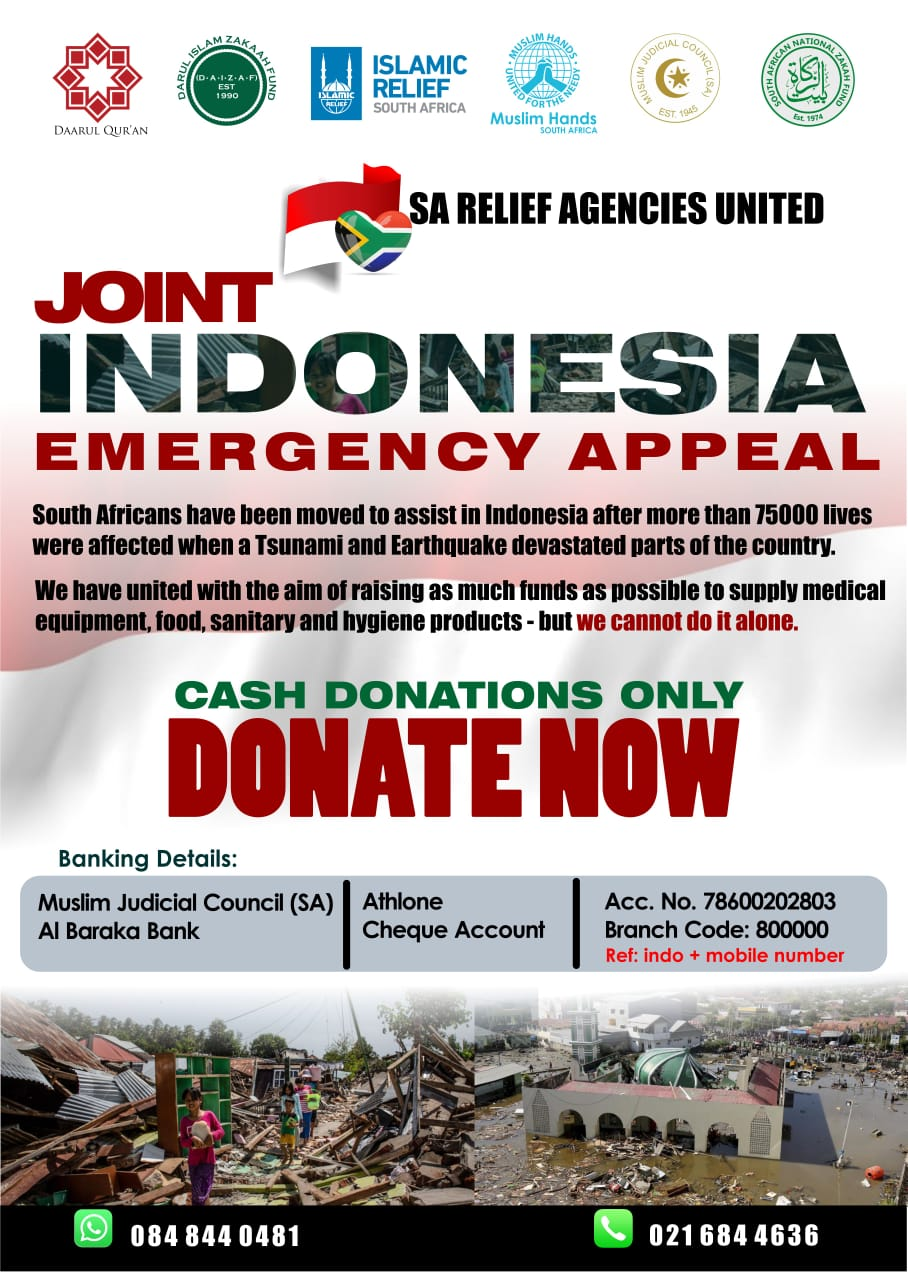sa relief agencies unite for indonesia - IMG 20181011 WA0028 - SA Relief agencies unite for Indonesia
