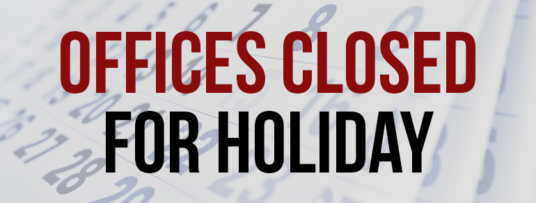 - officesclosed - MJC offices closed for the holidays