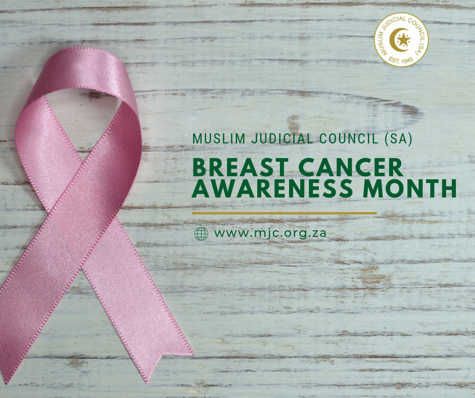 - Muslim Judicial Council SA 3 - Breast Cancer Awareness Month: MJC (SA)