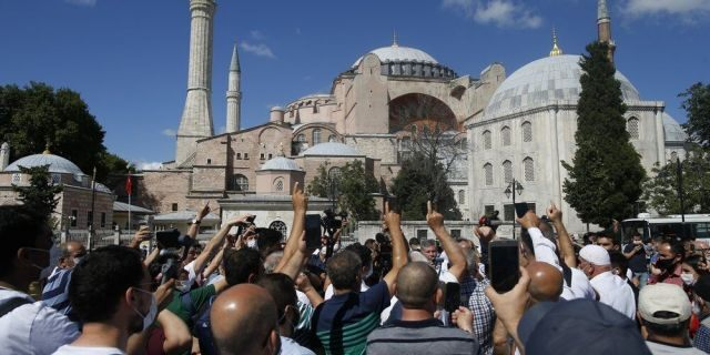 - cae75858 1000 1 1 - MJC SUPPORTS DECLARATION OF THE HAGIA SOPHIA AS A MASJID ONCE AGAIN