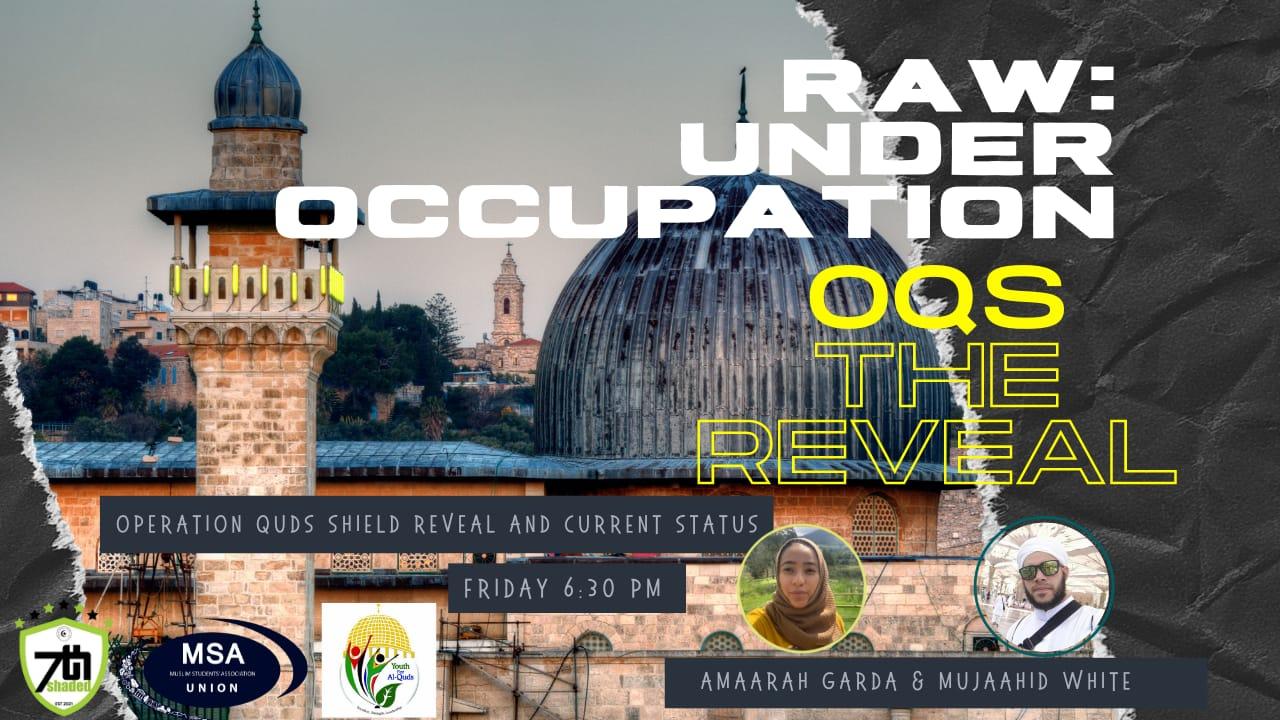- oqs - RAW: UNDER OCCUPATION
