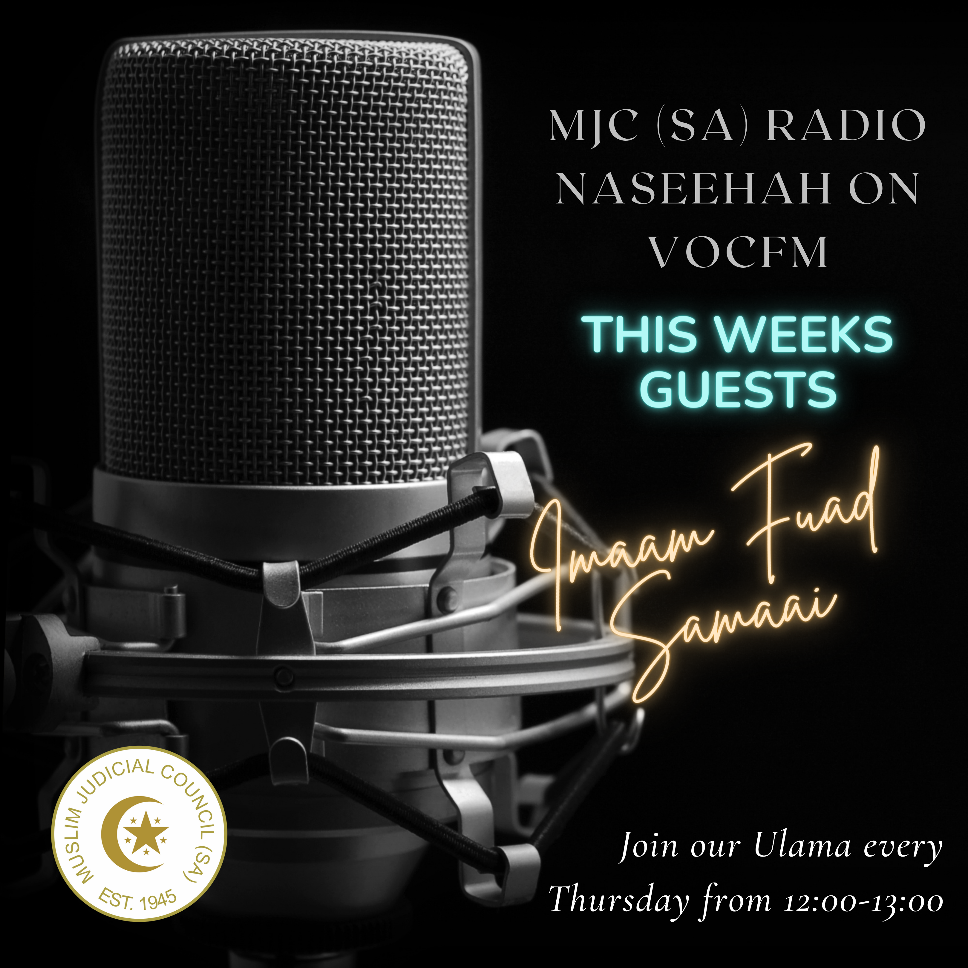 - fuad - MJC (SA) RADIO NASEEHAH ON VOC FM